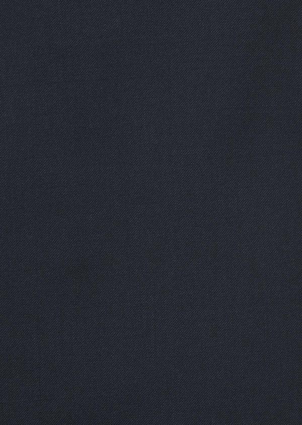 Gilet de costume en laine Vitale Barberis Canonico unie bleu marine - Father and Sons 8716