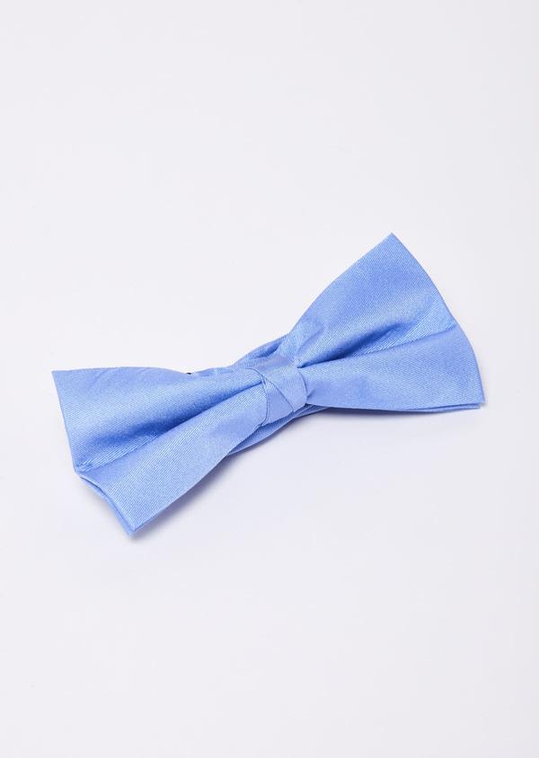 Noeud-papillon en soie unie bleu clair - Father and Sons 9184