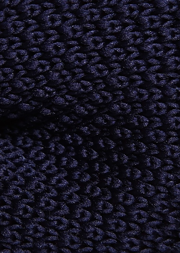 Noeud-papillon tricot uni marine - Father and Sons 8790