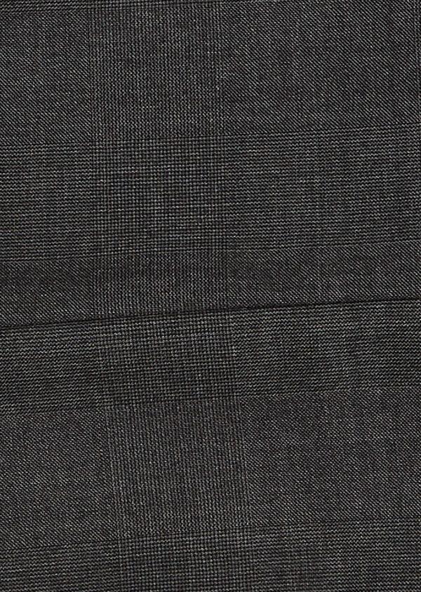 Pantalon de costume Regular en laine Vitale Barberis Canonico grise Prince de Galles - Father and Sons 9189