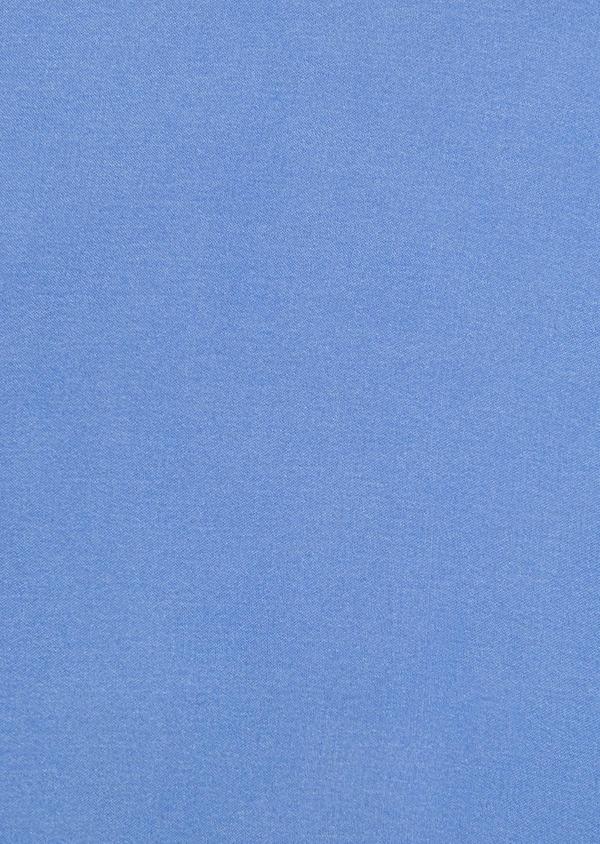 Pochette en soie unie bleu clair - Father and Sons 8862