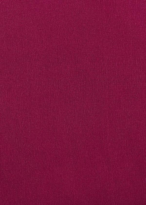 Pochette en soie unie rose foncé - Father and Sons 8854