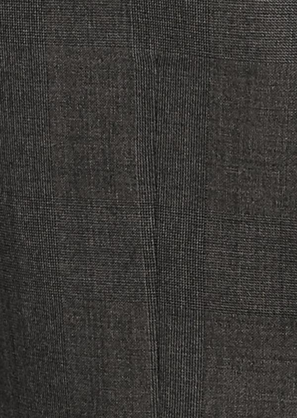 Veste de costume Regular en laine Vitale Barberis Canonico gris Prince de Galles - Father and Sons 8689