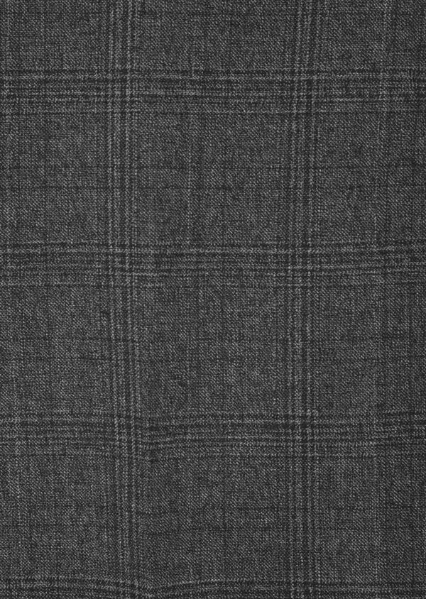 Pantalon coordonnable slim marron Prince de Galles - Father and Sons 42171