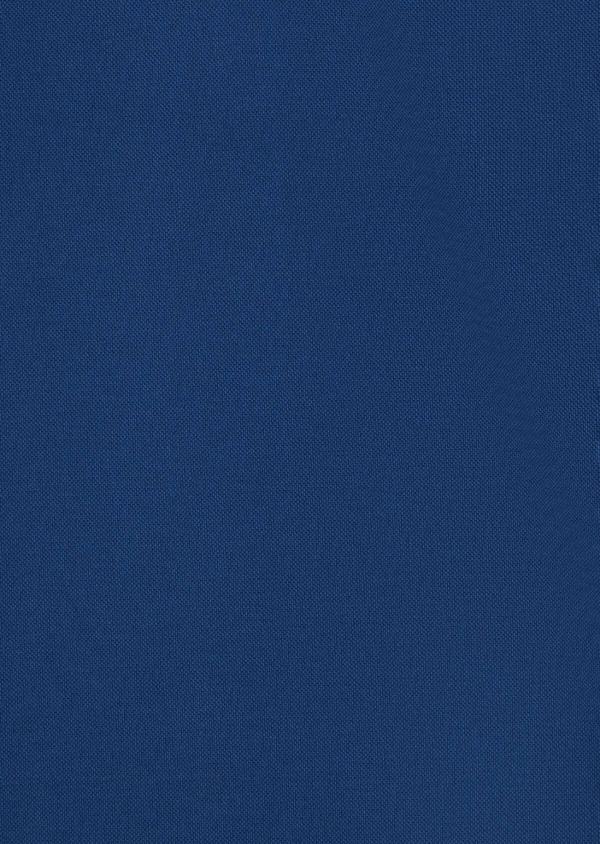 Polo manches courtes Slim en coton uni bleu - Father and Sons 40105