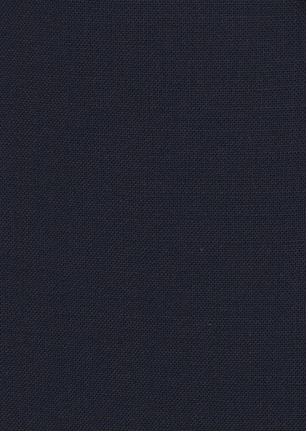 Veste de costume voyage Regular en laine bi-stretch unie bleu marine - Father and Sons 42441